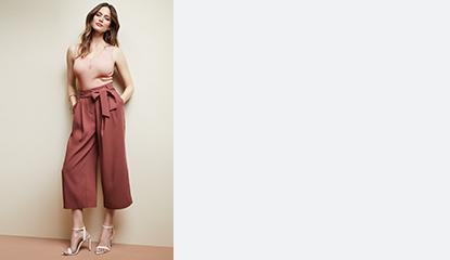 30 % de rabais pantalons, jupes et shorts pour femmes
