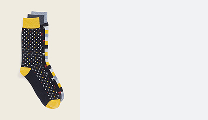 Socks 3  for $18.00