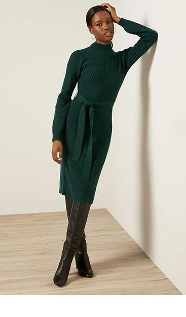 Robes en tricot