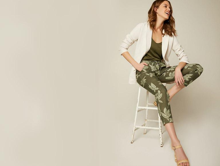 40% de rabais sur les jupes et pantalons