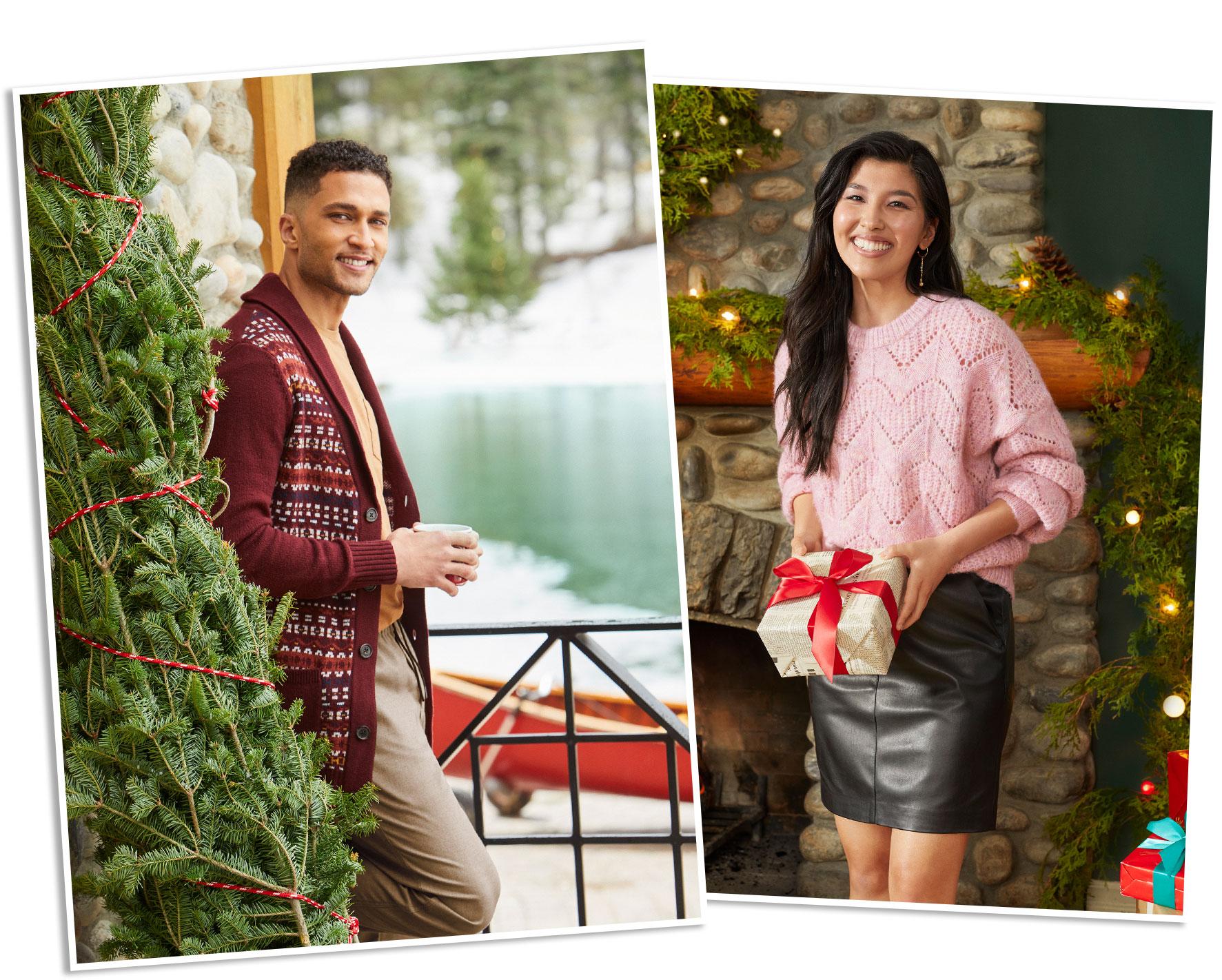 Chandails en tricot Pour Elle et Lui