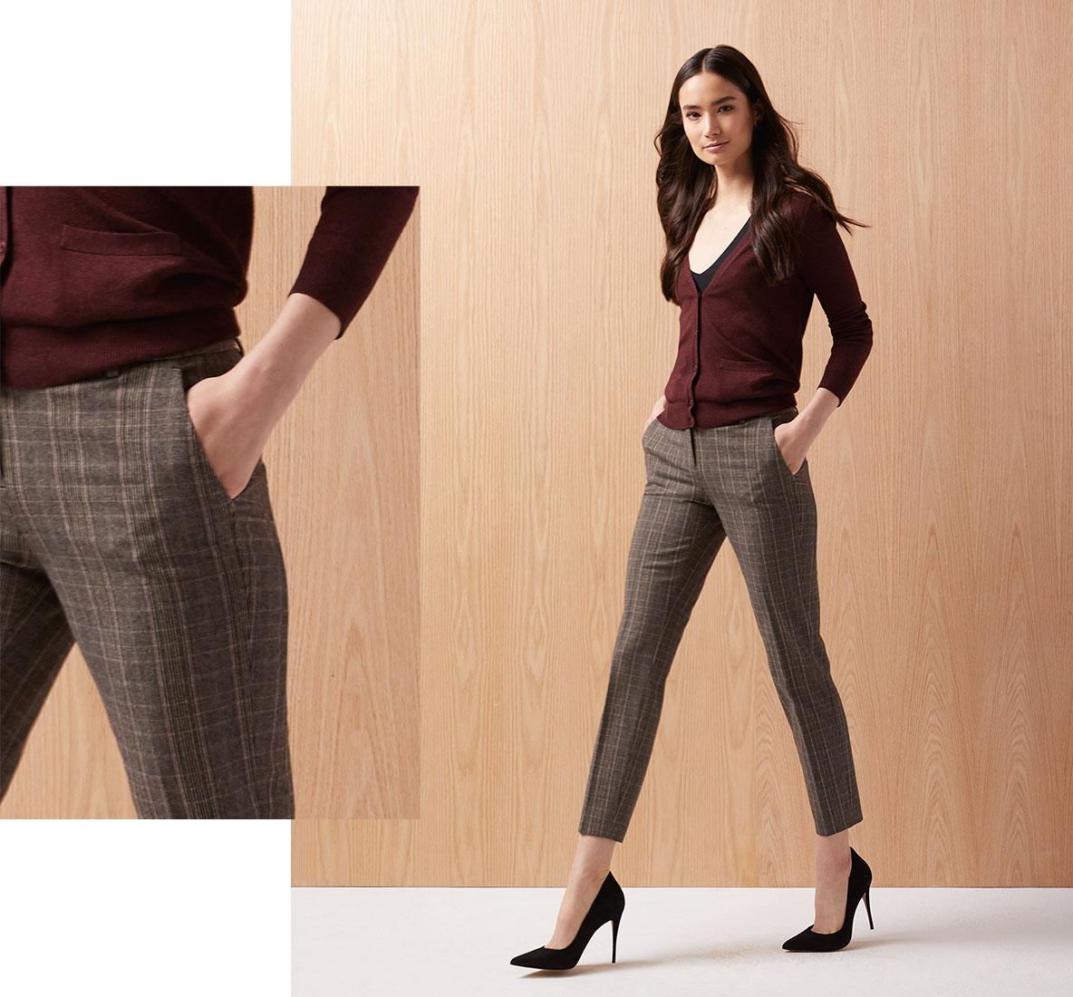 Le pantalon longueur cheville