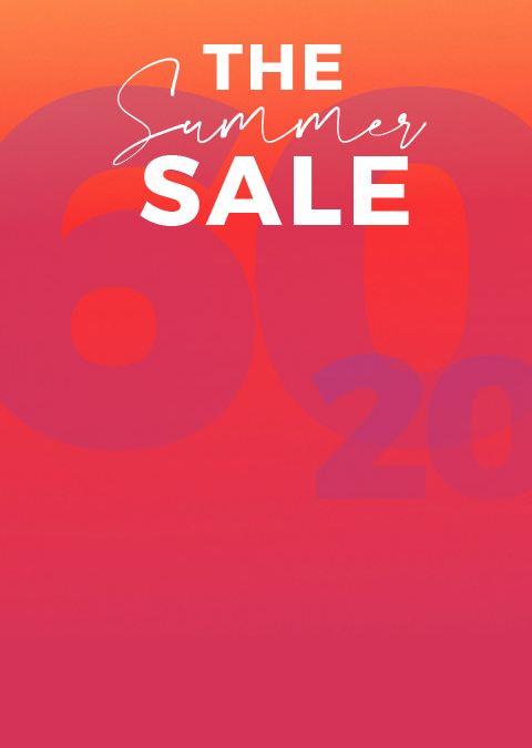 Summer sale. Up to 60% off + extra 20% off.*