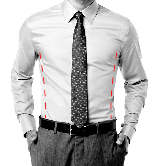 Dress Shirt Fitted