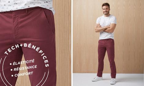 Pantalons chinos