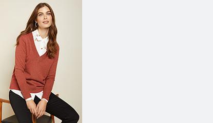 Chandails en tricot pour femmes