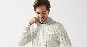Men's Sweaters starting at $39.90