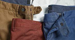 Select Men's Chinos at $49.90