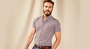 Chemises à manches courtes pour hommes à 49,90 $