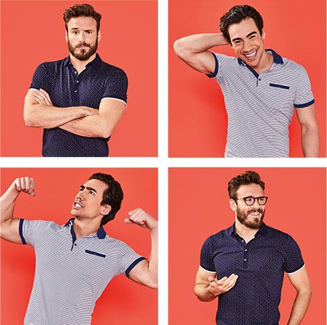 men with polo