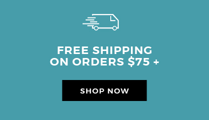 Free Shipping On Orders $75+
