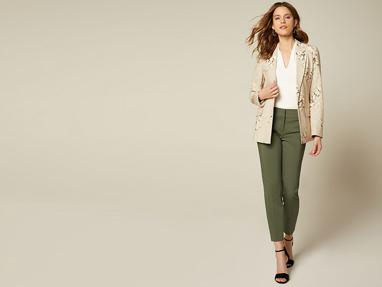 40% off blazers and bottoms