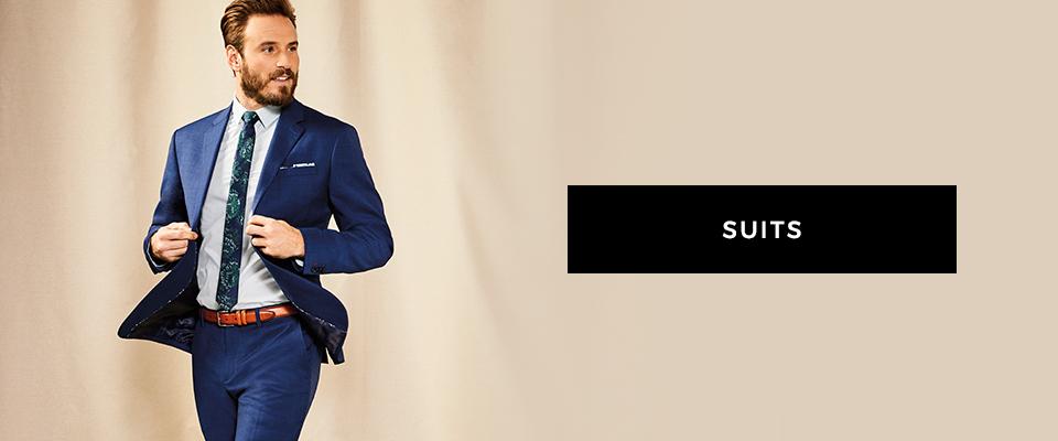 Shop men's suits