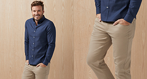 Extra 10% OFF men's pants