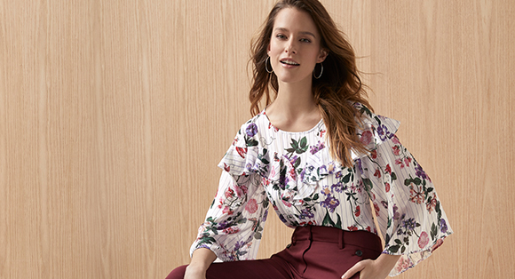 Select Women's Blouses starting at $39.90
