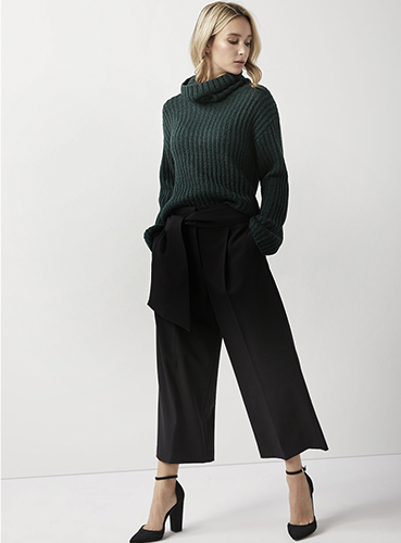 Wide crop - Pant Guide